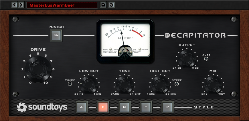 Decapitator - Soundtoys