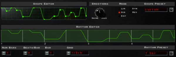 FilterFreak - Rhythm Editor