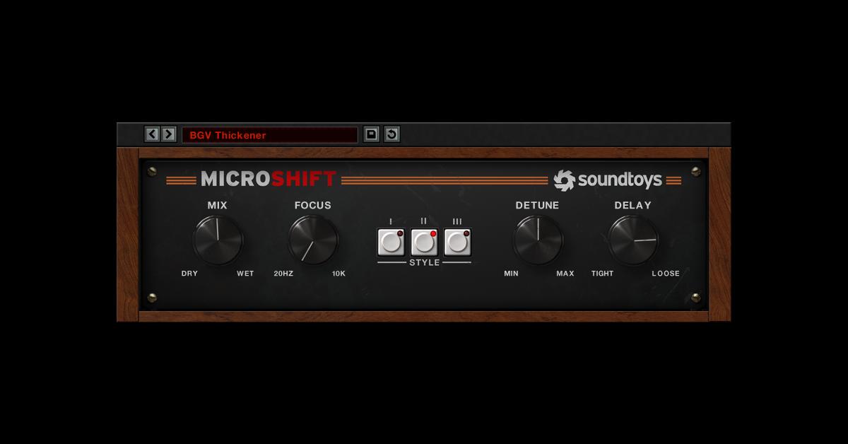 MicroShift - Soundtoys