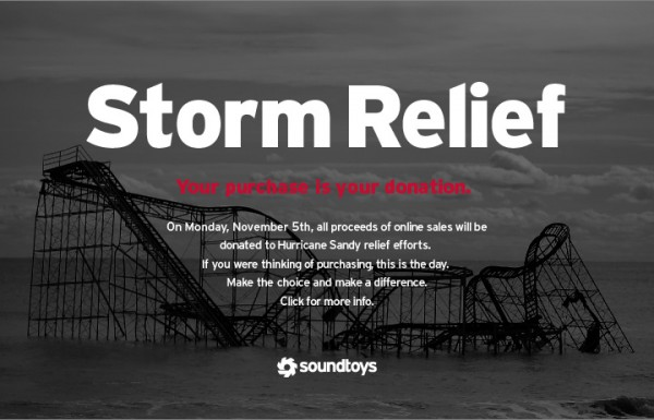 Soundtoys Storm Relief