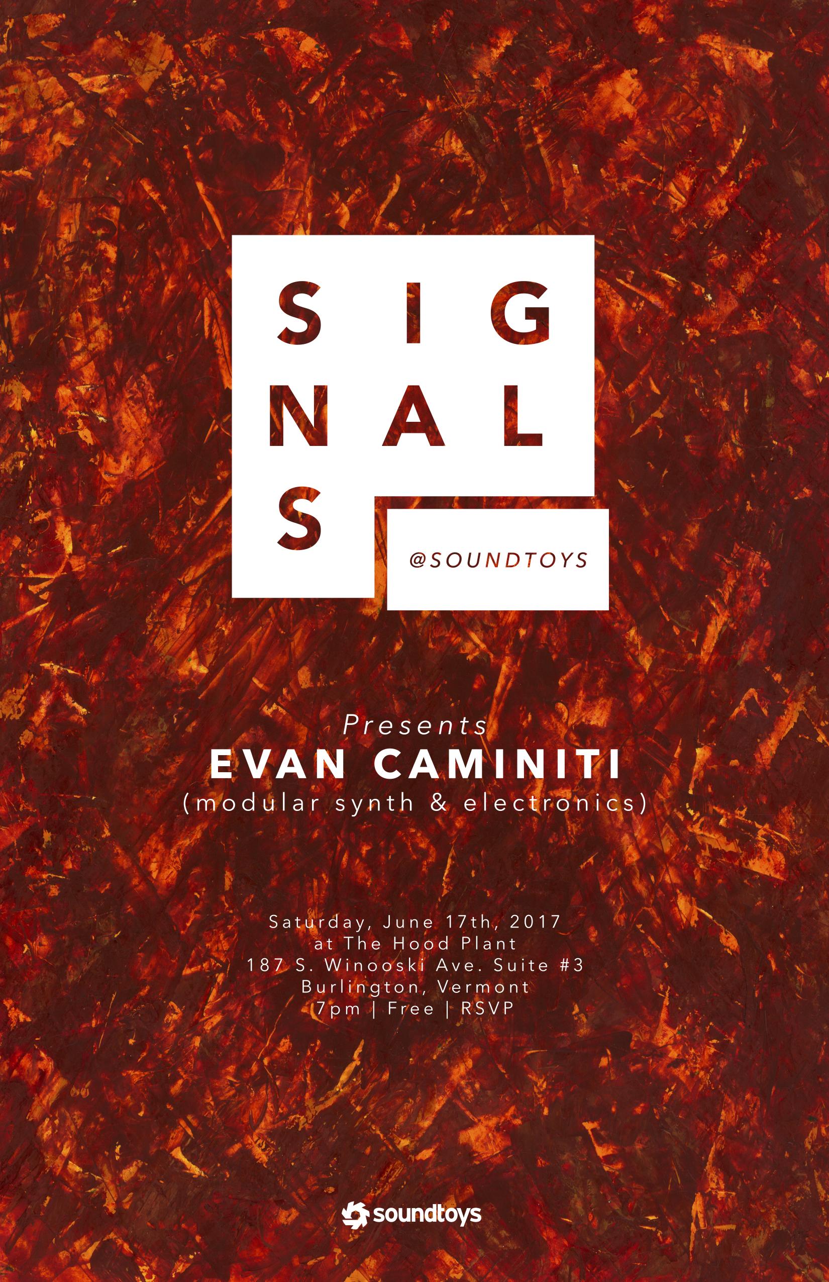 signals: evan caminiti