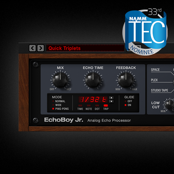 EchoBoy Jr. Nominated For NAMM TEC Award
