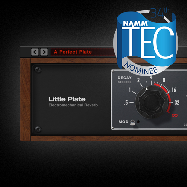 Little Plate Nominated for NAMM TEC Award